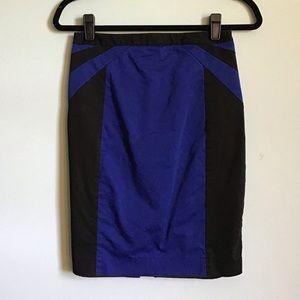 Express Color Block Skirt